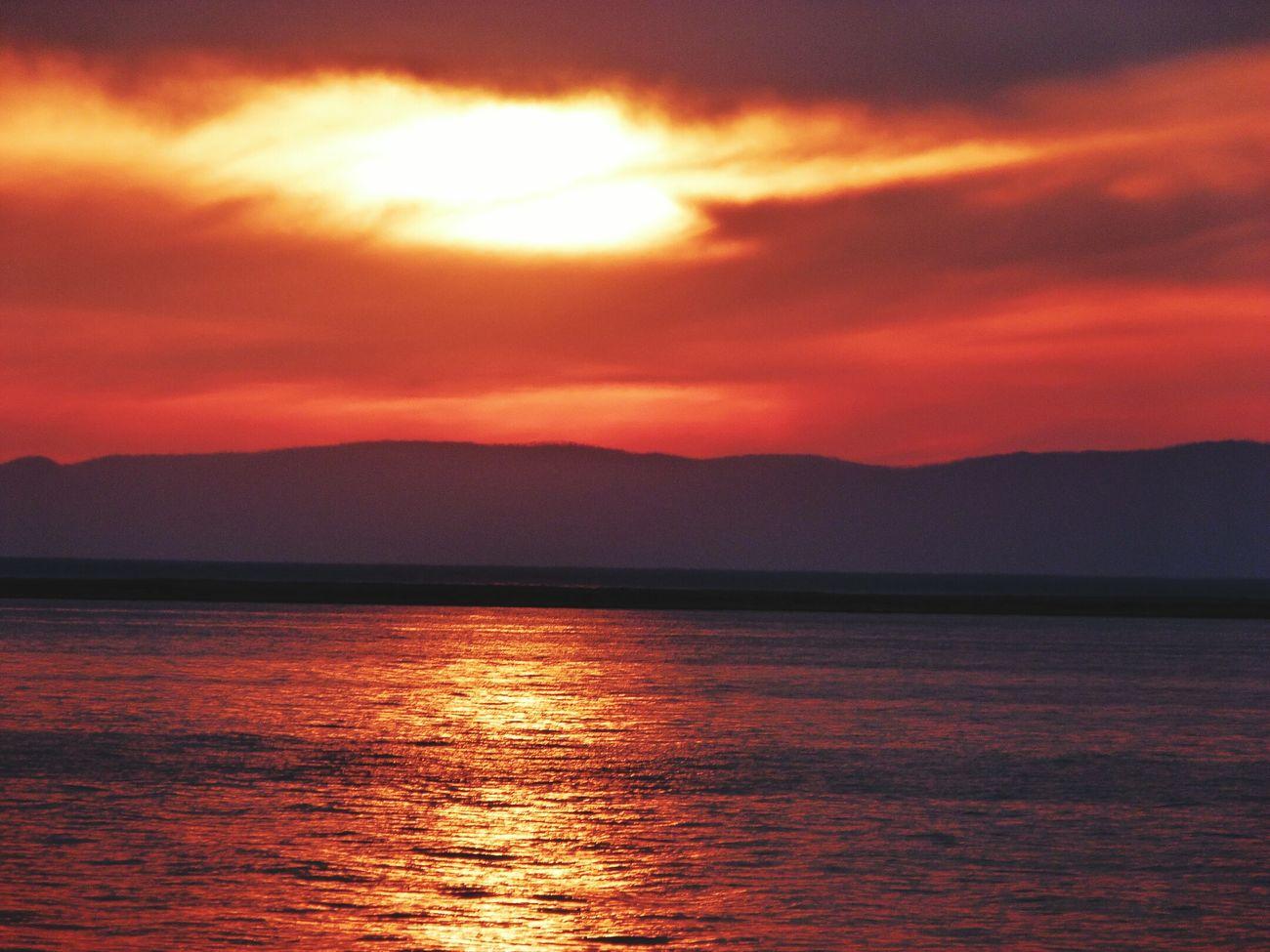 Baikal Summertime Култушная Sunset