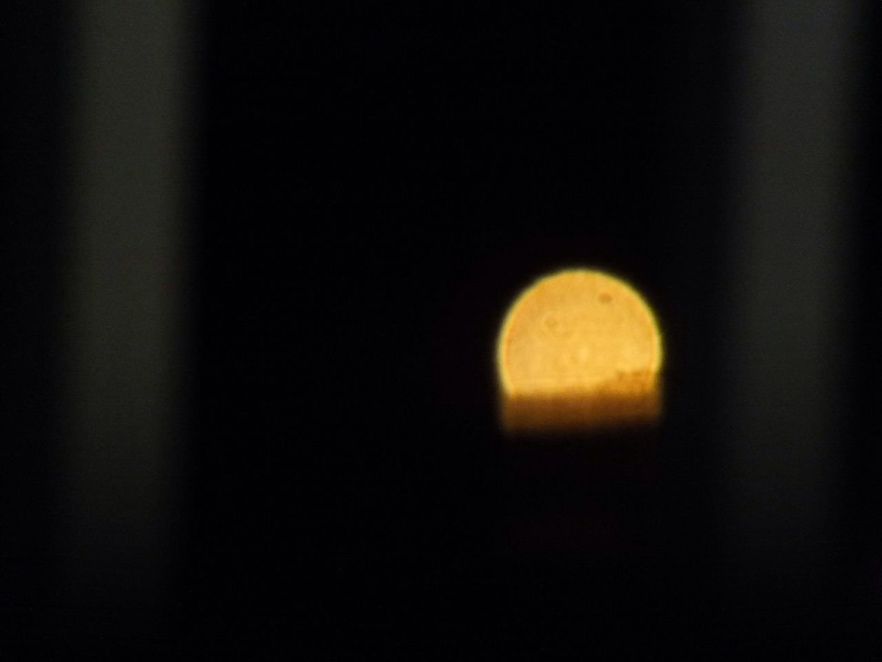 night, moon, beauty in nature, nature, no people, yellow, astronomy, outdoors, close-up