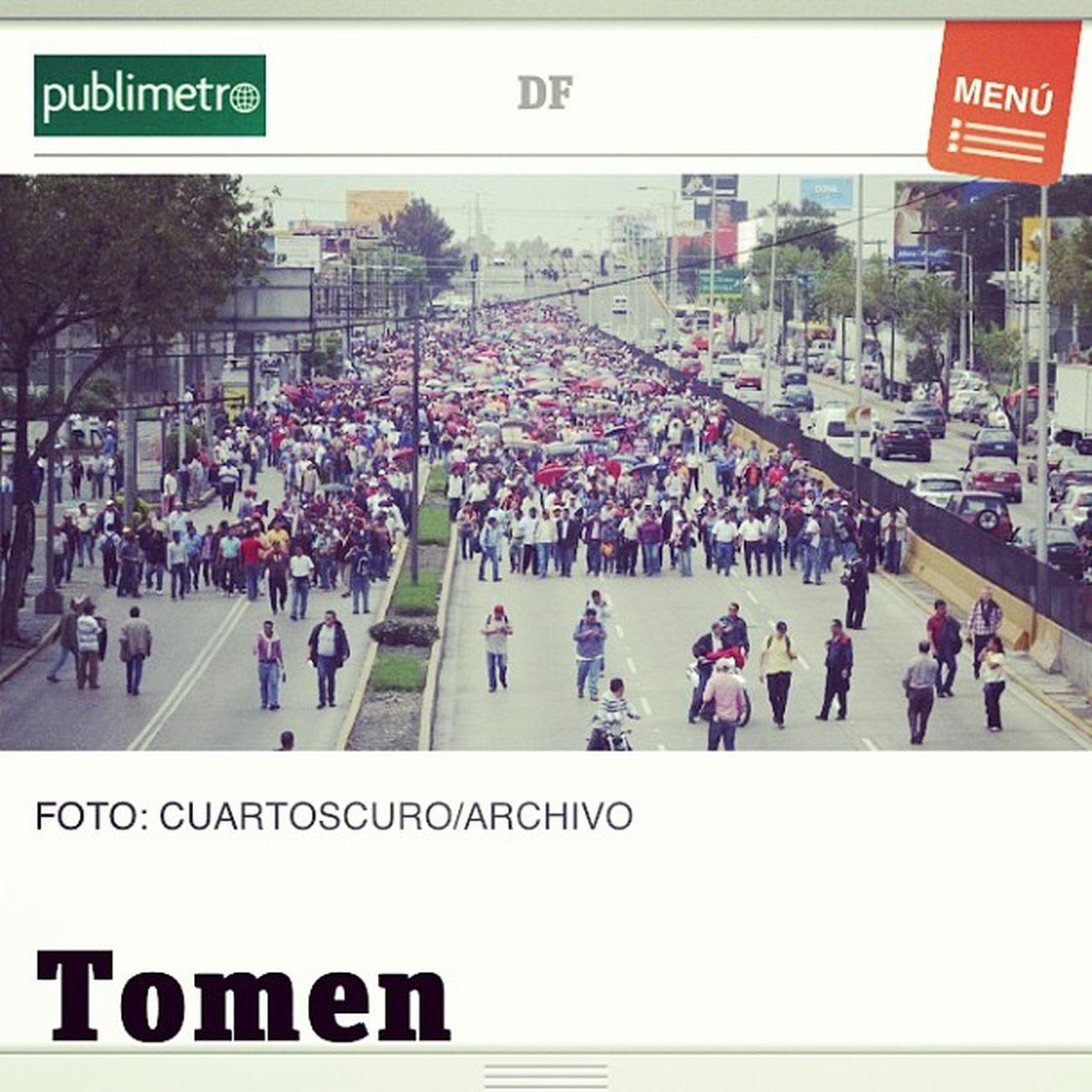 De mi equipo Cuartooscuro Cnte Publimetro News noticias mexico maestros tomen photo picture strike 2013 fuck sin palabras .