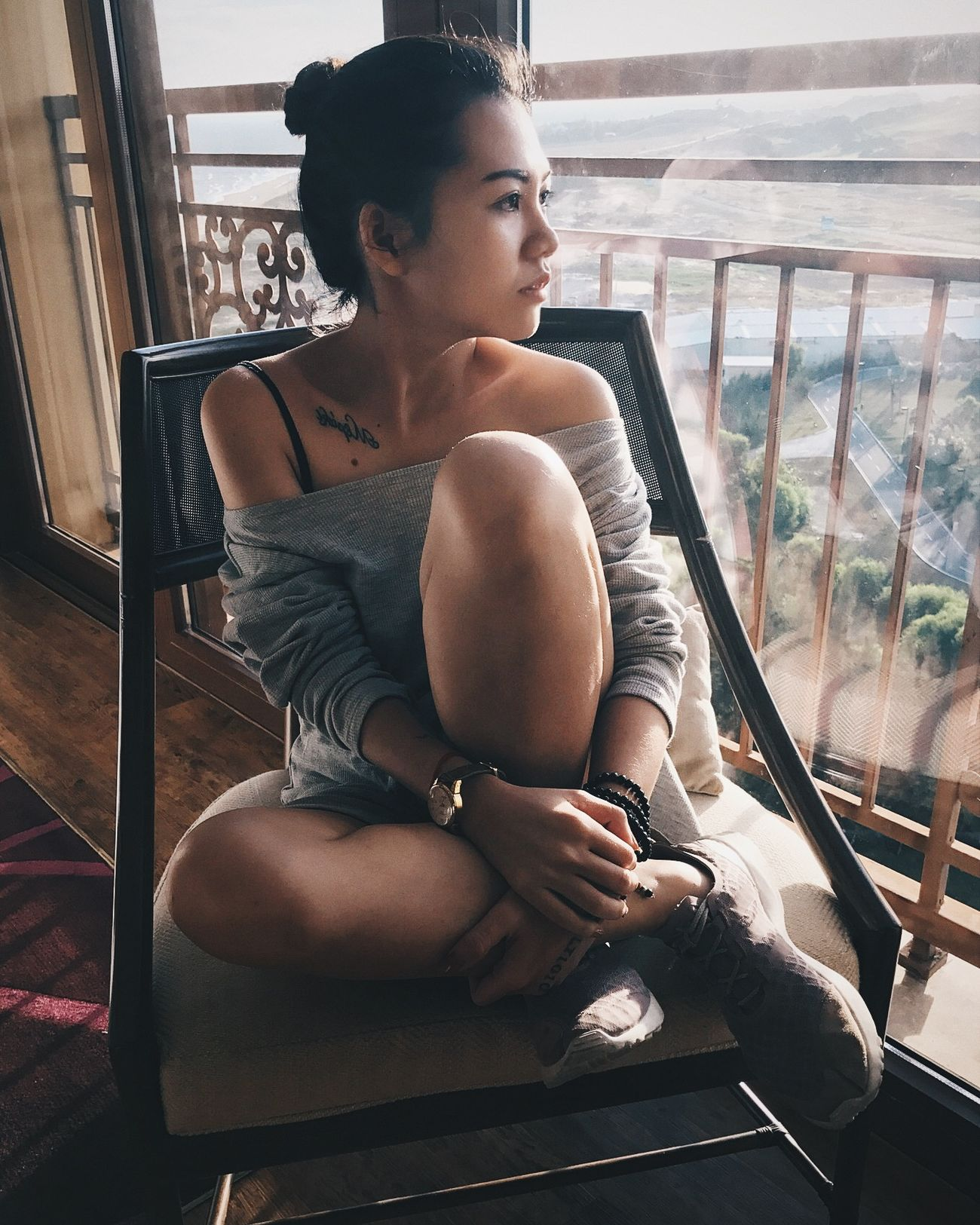 Adults Only Beauty Beauty In Nature Girl Girls One Person One Woman Only Only Women People Portrait Of A Woman Sitting Vietnam Vietnamese View Women Young Adult Young Women