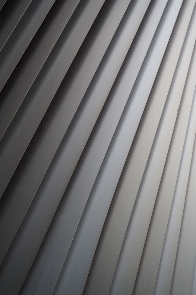 Berlin Architectural Detail Flap Grey Metal Metalic Modern Part Of Row Stripes Everywhere