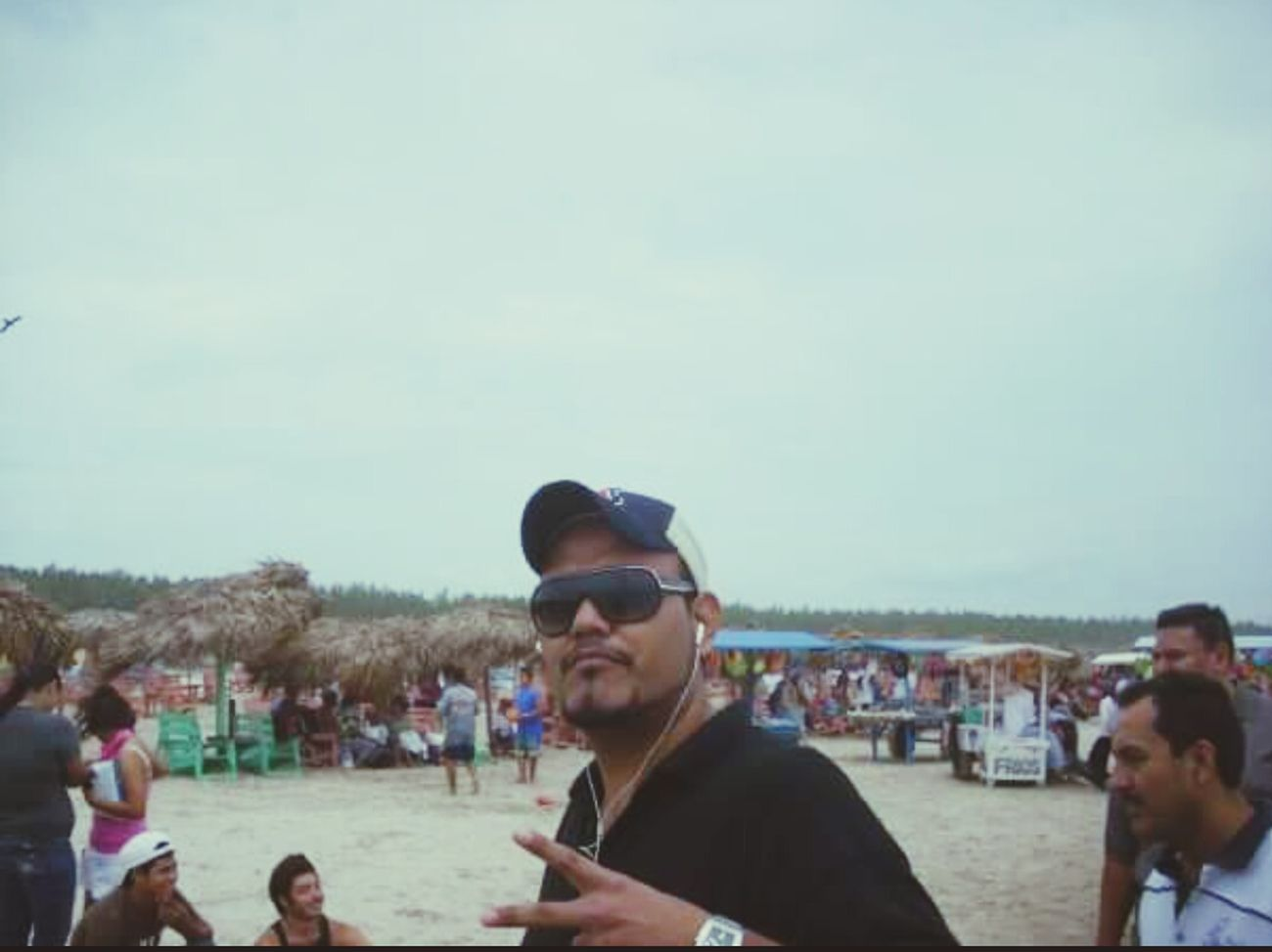 Relaxing Beach Myself Tampico Mexico