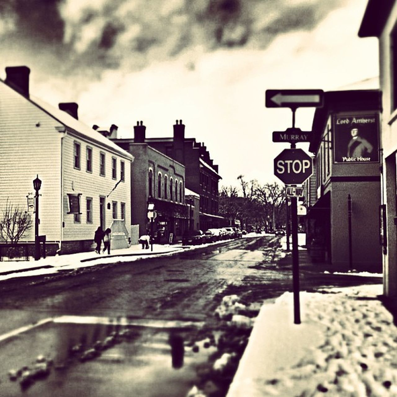Dalhousie Amherstburg Snapseed Mytown Winter Cold Winter ❄⛄ Snapseed Editing  Hdr Edit