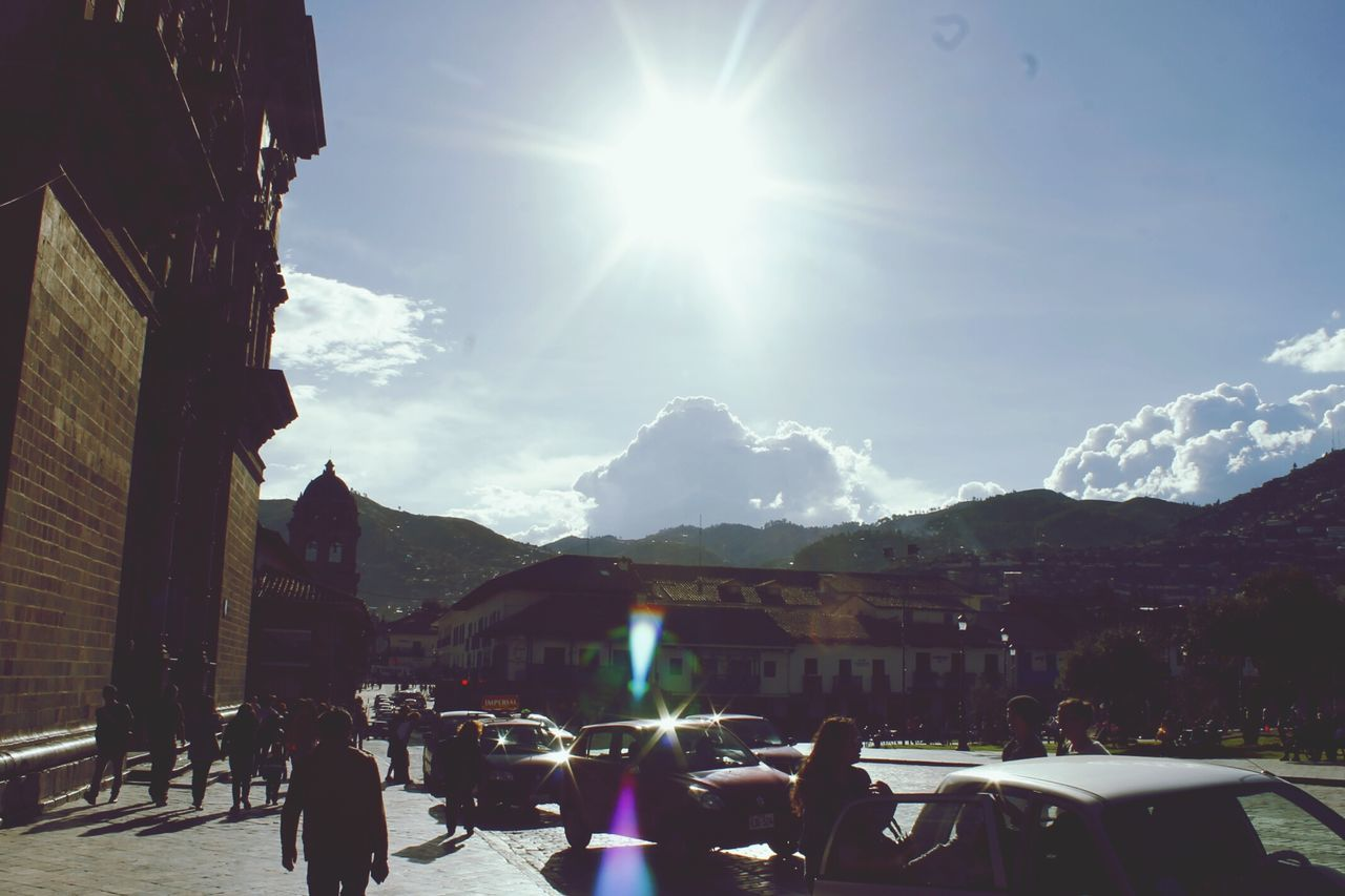 Cusco, Peru Main Square Sky People Architecture Adult Travel Destinations Large Group Of People Outdoors Adults Only Day