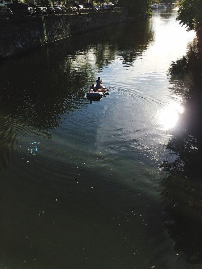 Boat River Summer Berlin