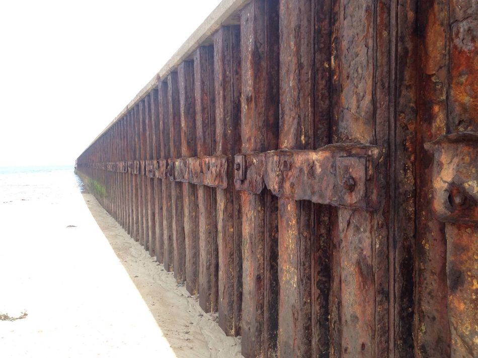 Fading slowly The Pier Weathered Built Structure