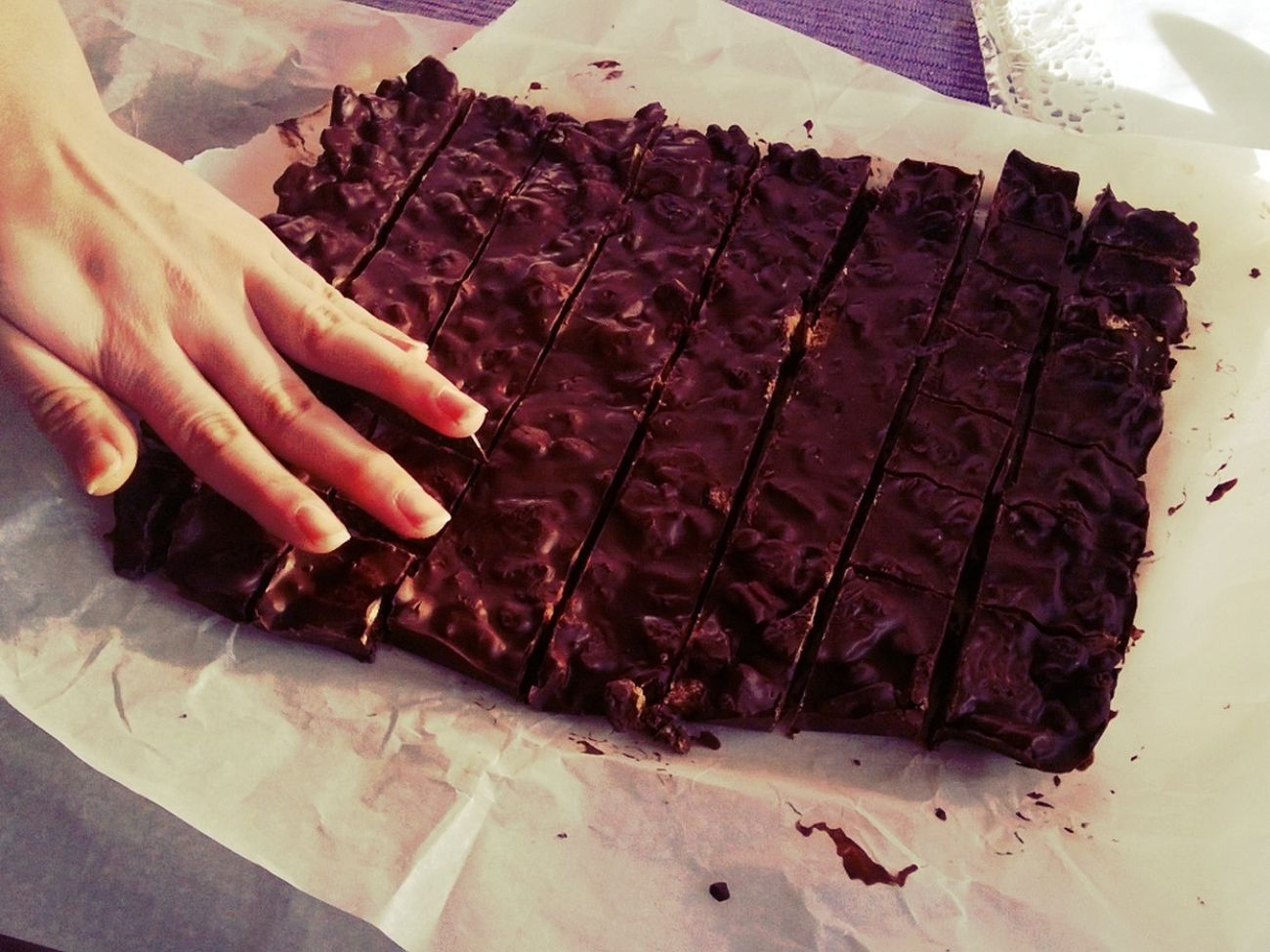 Self Made Chocolate Bars