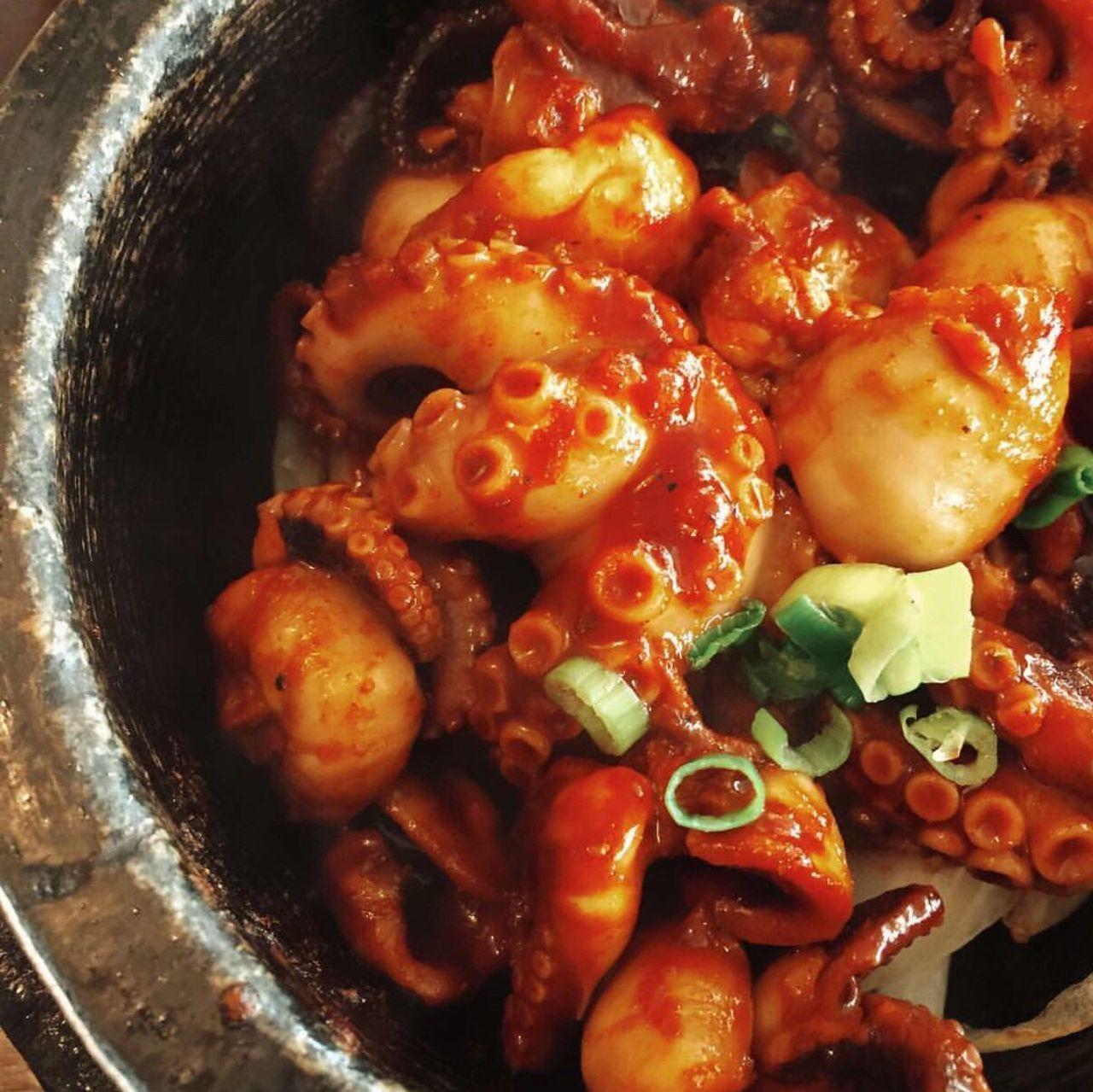 OCTOPUS Korea Food