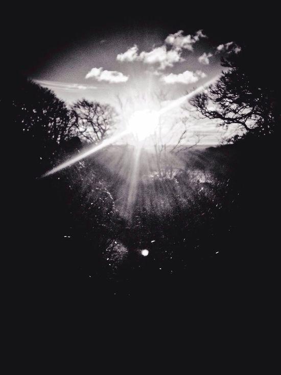 Showcase: February Taking Photos Hello World Blackandwhite Photography Blackandwhite Sunrise Morning Gods Eye Sky