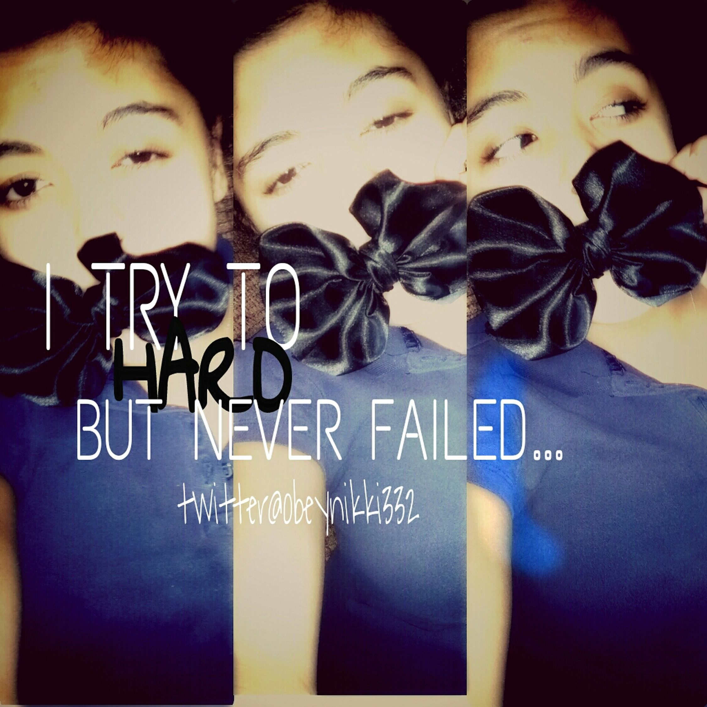 I Try To Hard But Never Failed ...