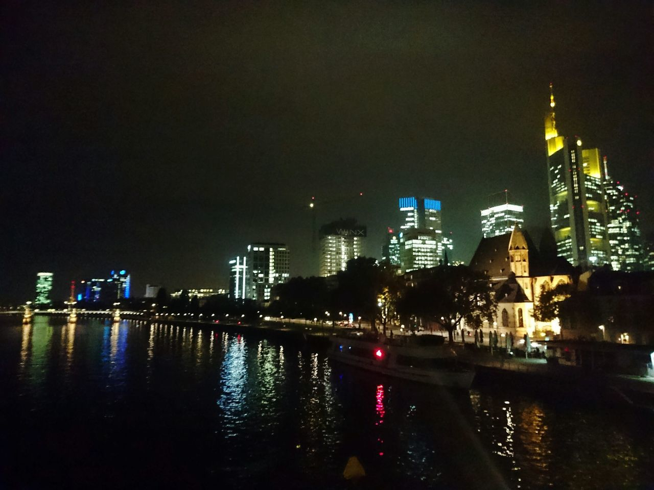 Night City Urban Skyline Skyline Frankfurt Architecture Frankfurt Am Main Germany 🇩🇪 Deutschland Wolkenkratzer Wolkenkratzer Fotos