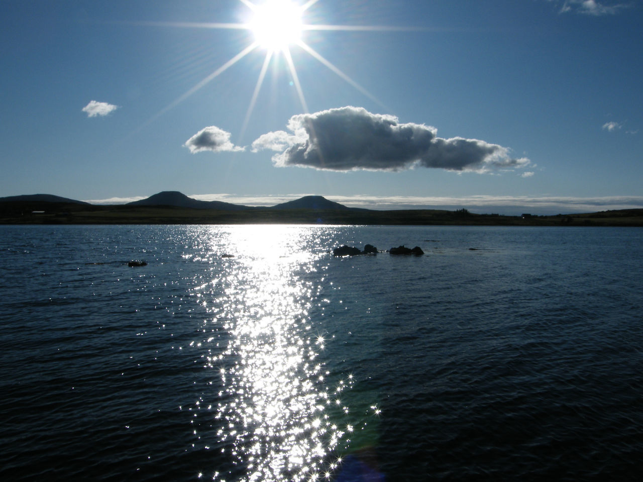 Beauty In Nature Caroy Jetty Day Horizon Over Water Idyllic Isle Of Skye Loch Caroy MacLeod's Tables Nature No People Outdoors Rippled Scenics Scotland Sea Sky Sun Sun On The Sea Sun On The Water Sunlight Tranquil Scene Tranquility Water Waterfront