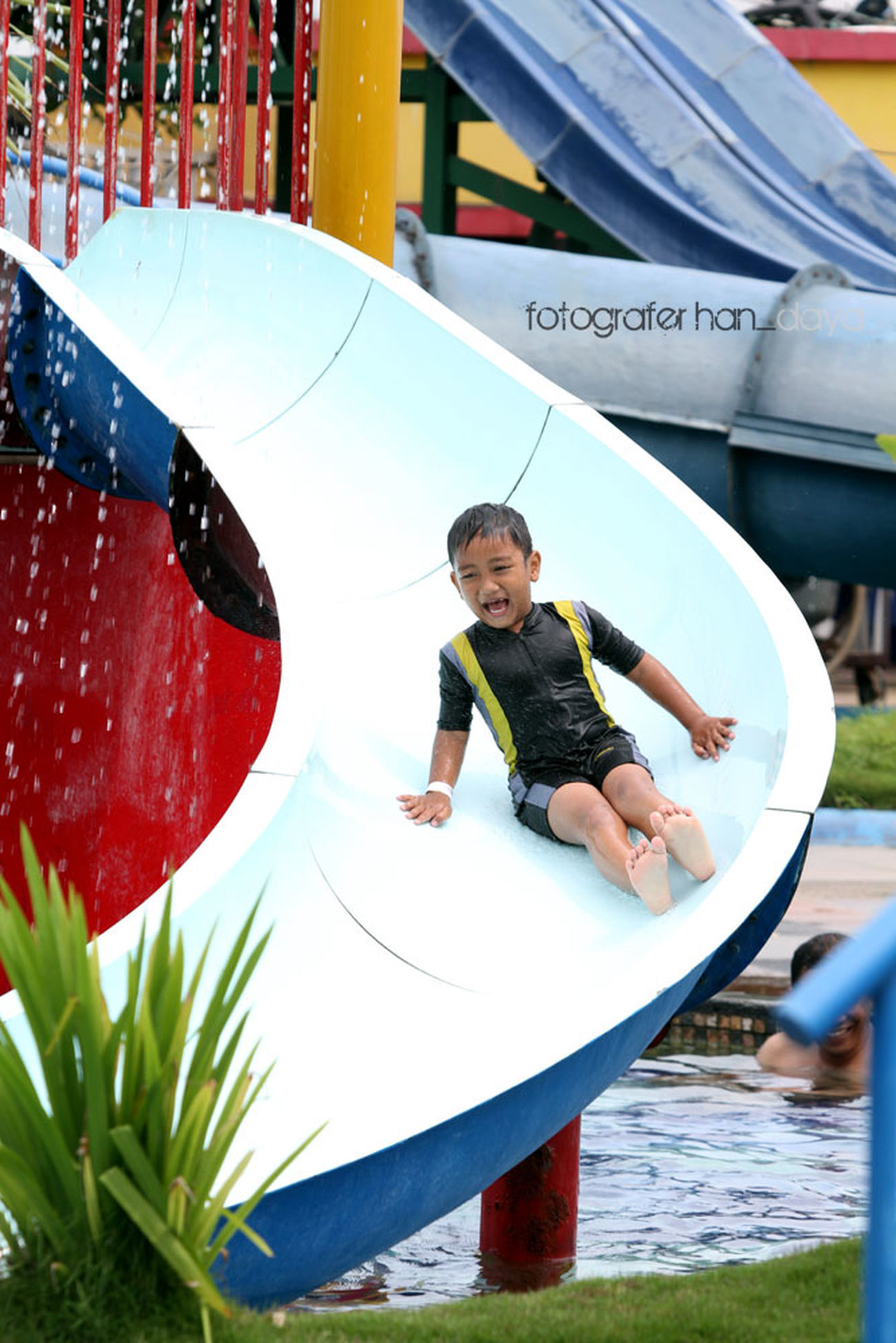 Smile Have Fun Enjoying Life Waterboom