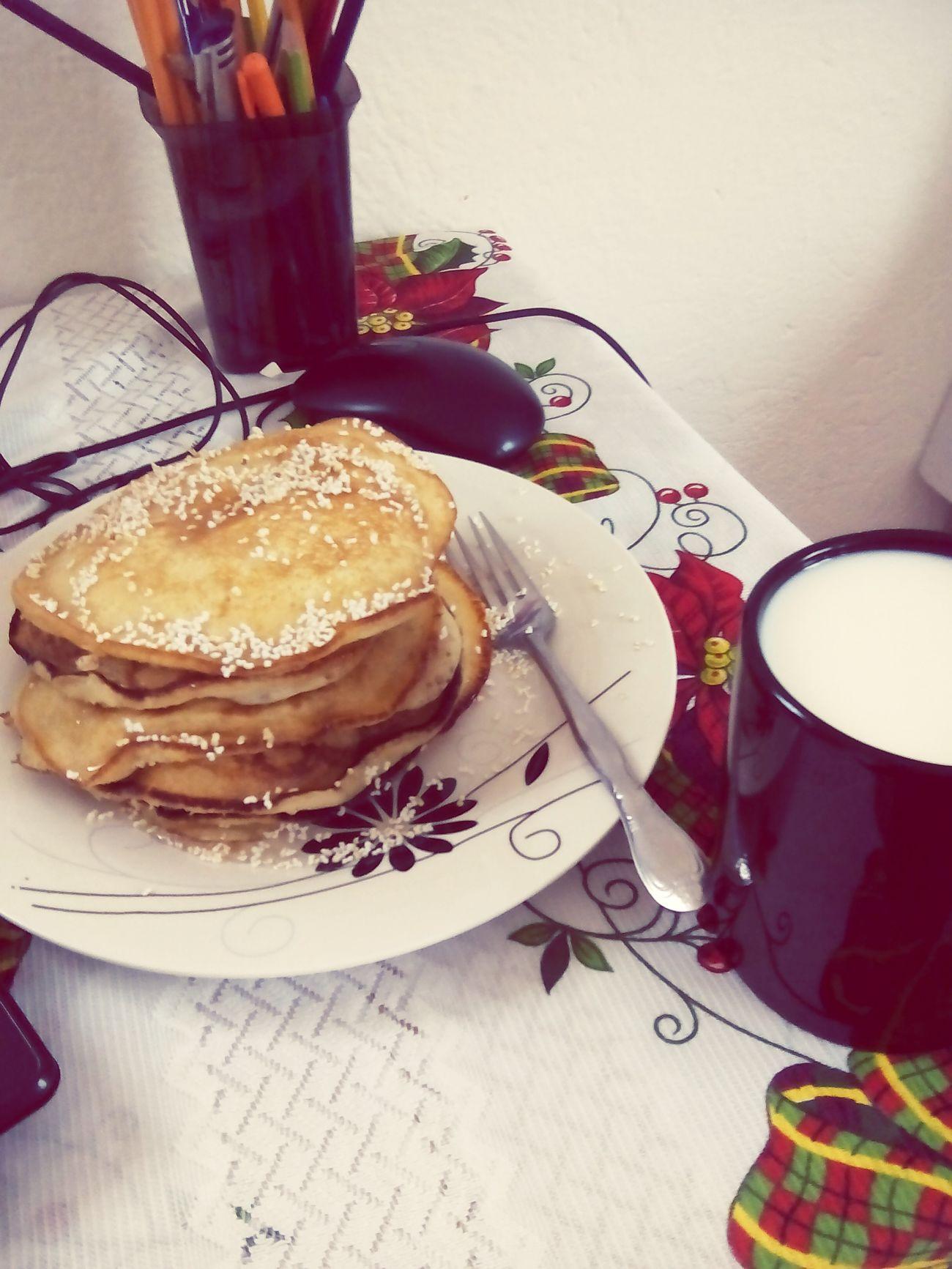 Hermosa mañana Breakfast Hotcakes.