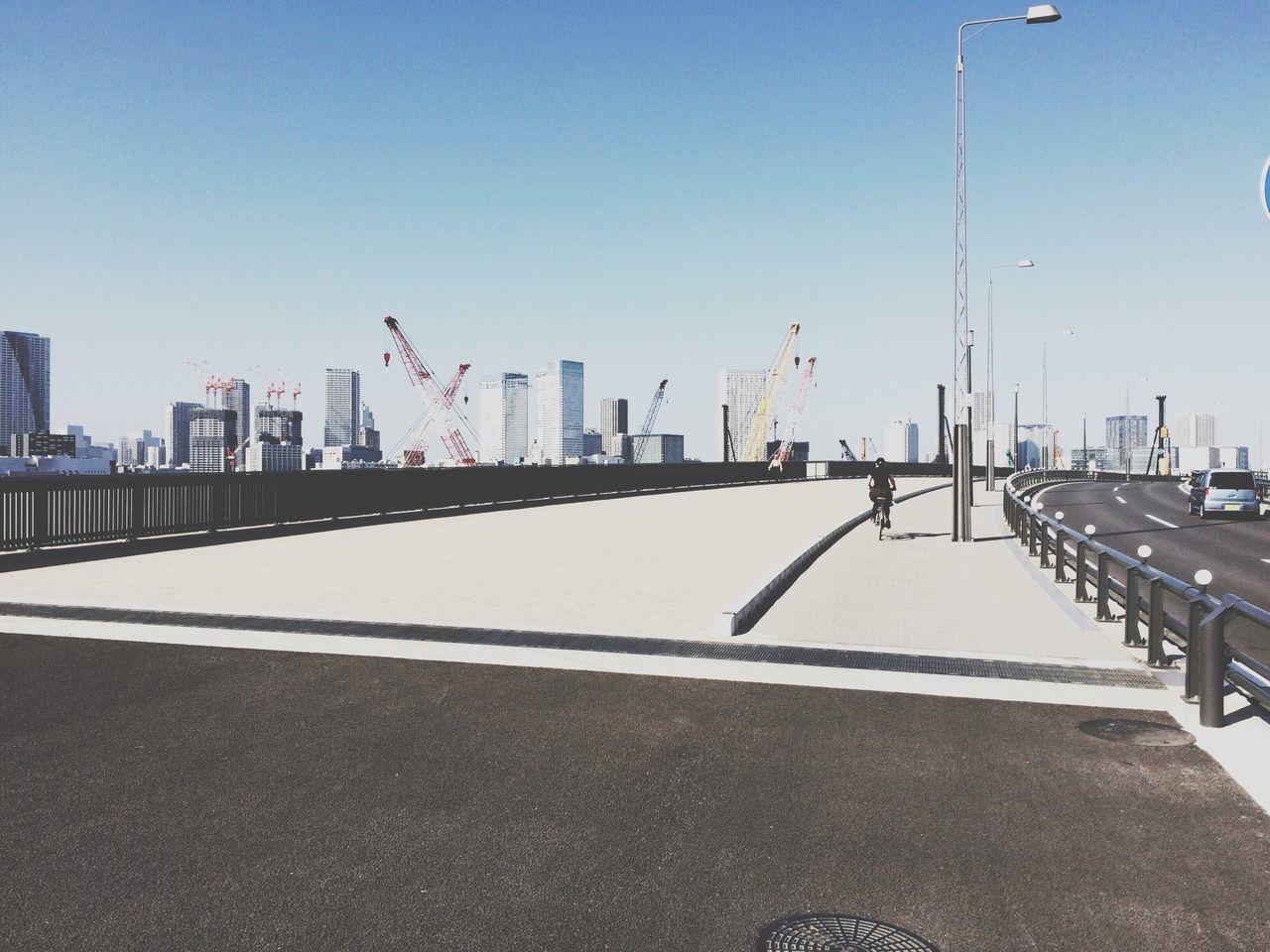 Clear Sky Built Structure Street Photography Bridge