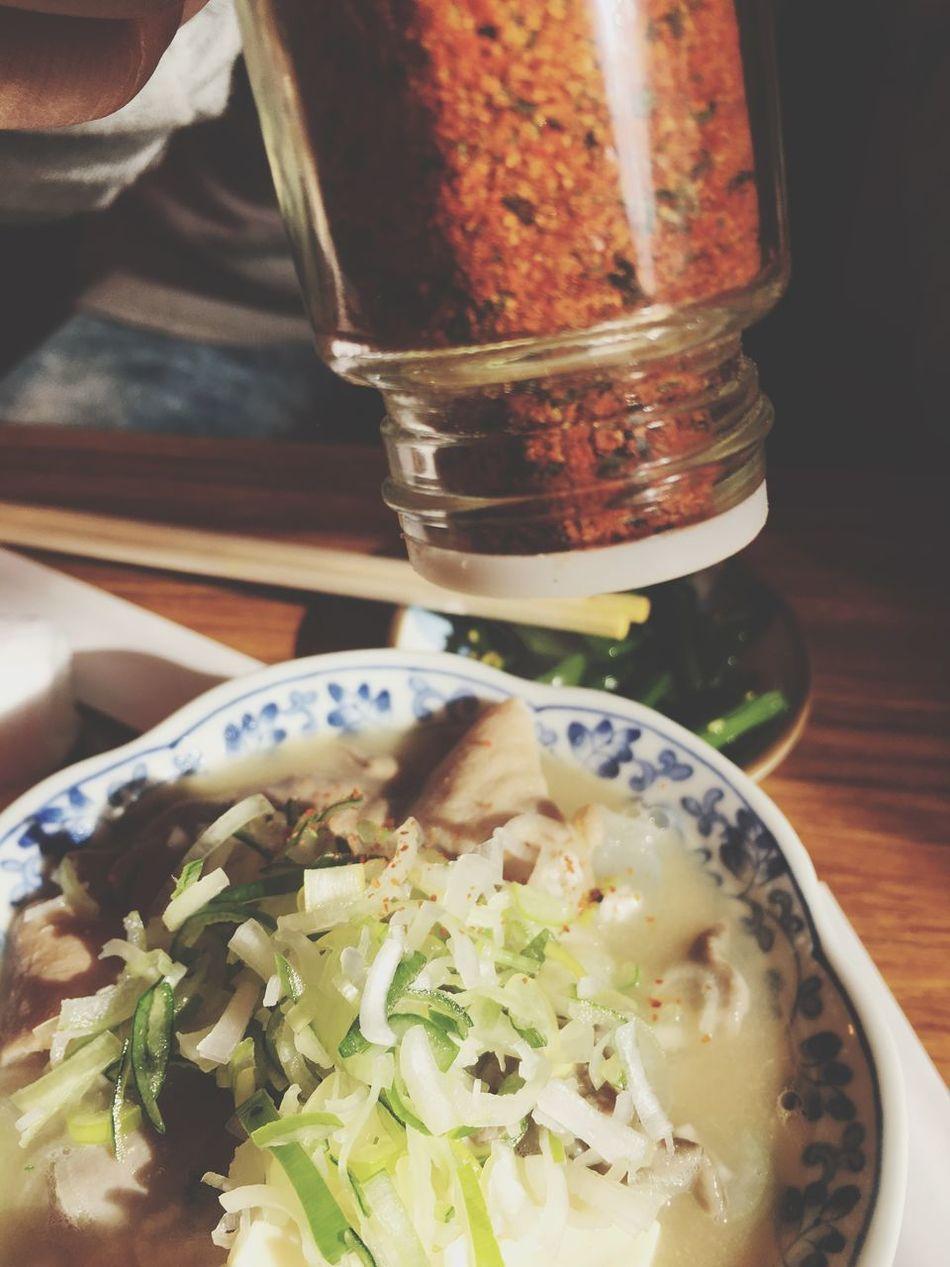 Food Day Asakusa モツ煮 七味唐辛子 Yammy!!