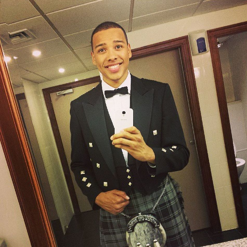 Love looking dapper in Kilt Scottish Dance Albyn SeniorYear blazer prince charlie traditional