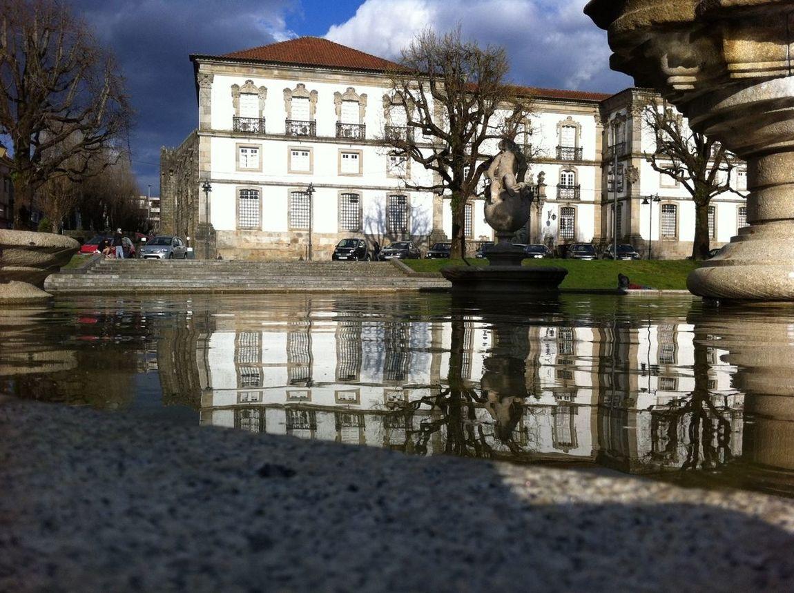 Braga Water Reflections