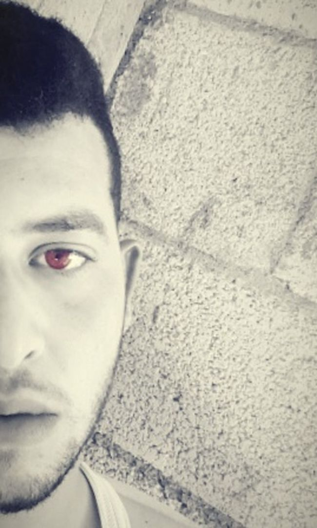 Burning Eyes Black And White Loving It  Just Me