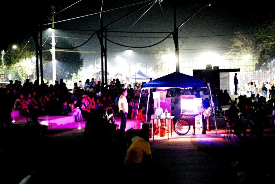 Illuminated Night City Lighting Equipment Flower Neon Popular Music Concert Chilena