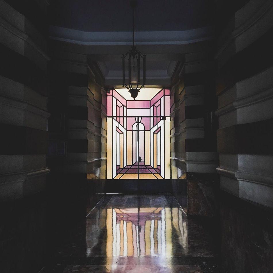 Portal Condominium Glass - Material Glass Color Indoors  Day Good Morning Morning in the City City Lights Milan Milano Italy Italia Delacruzfotografia David De La Cruz Reflection