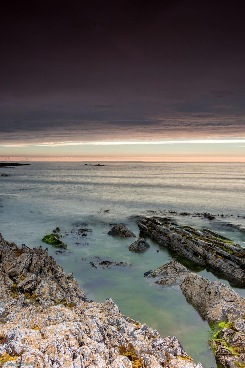 Beautiful stock photos of leinwand, Ballywalter, Beach, Beauty In Nature, Cloud - Sky