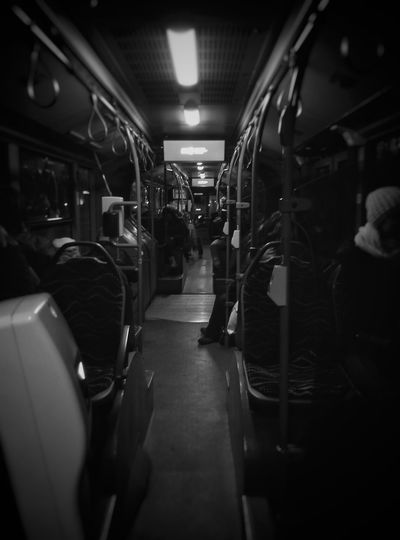 Travel Bus Blackandwhite Meizum2 Meizuphoto