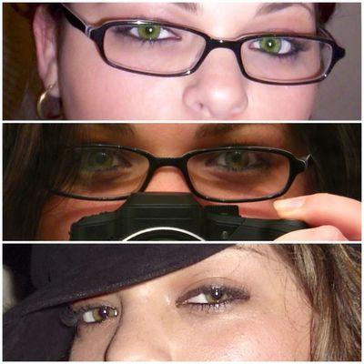 Picframe Beautiful Eyes Girlfriend