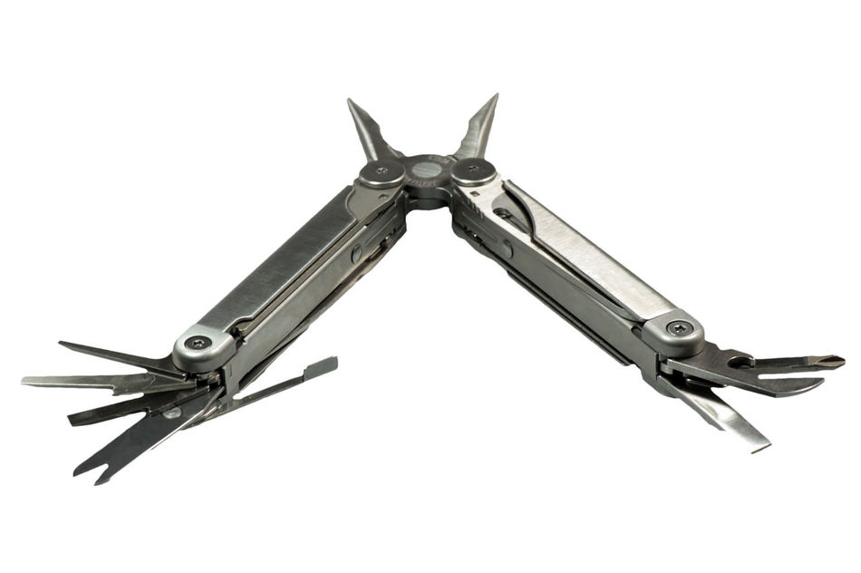 Leatherman tool as Cut Can Opener Flexible Inexpensive Knife Leatherman Meter Multi Tool Multifunction Tool Optional Pliers Pocket Knives Pruning Knives Saw Screwdriver Studio Tool Versatile Versatility Worth More