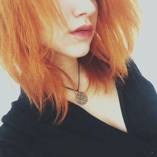 Valkiria Necklace Girl Ginger Dark