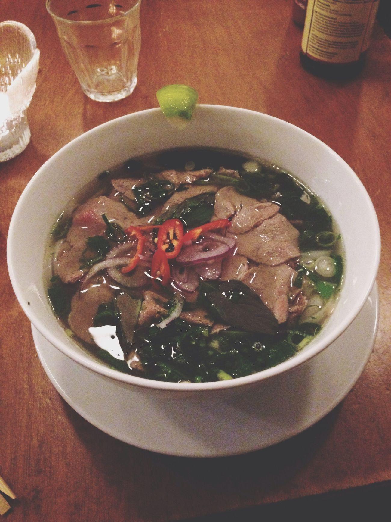 Pho at Pho 91... Albert Cuypstraat in Amsterdam. This always makes me happy... Pho Pho91 Albert Cuyp Amsterdam