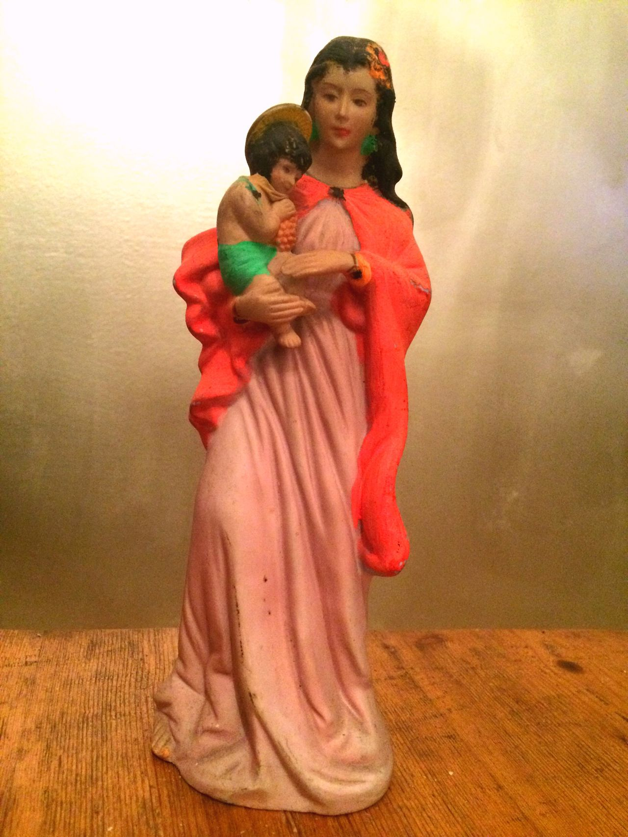 Pastel Power Mariah Pink Lady Mother Mary Religious