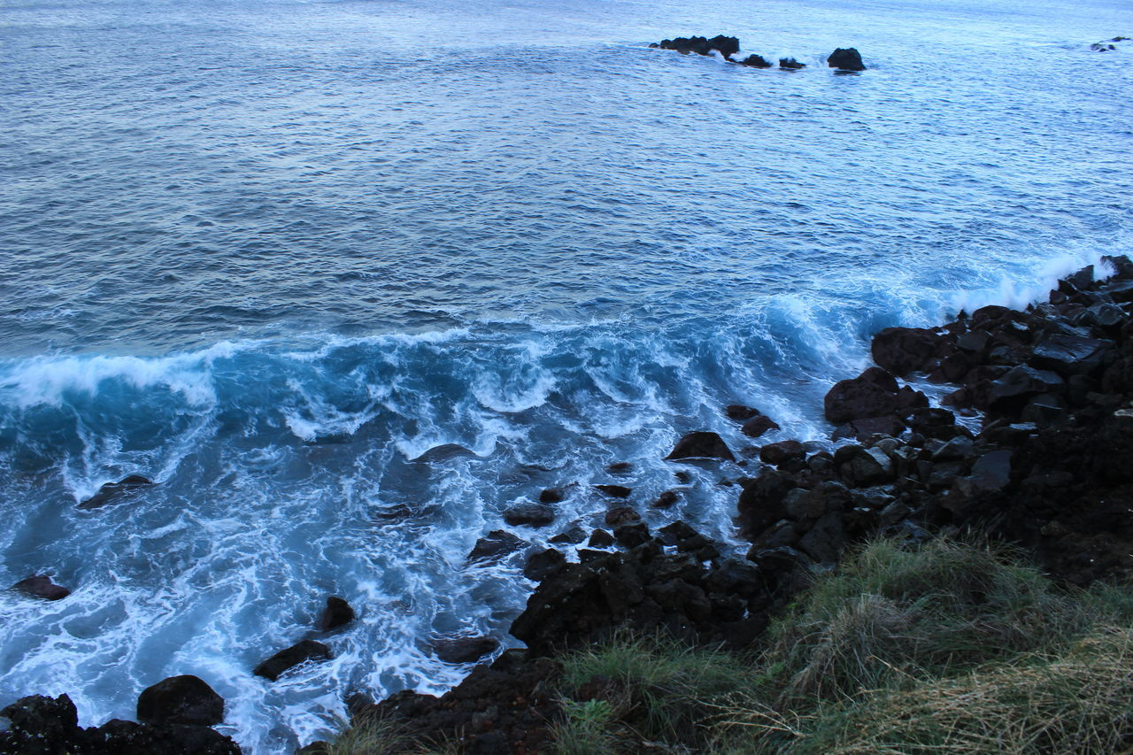 #azores #Blue #islands #ocean #saomiguel #wave First Eyeem Photo