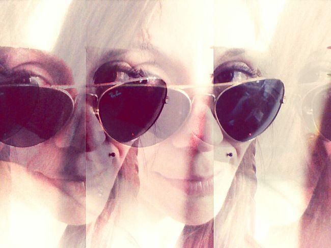 Looking Through Her Eyes Brown Eyed Girl RayBans® Rayban Aviators Hi!