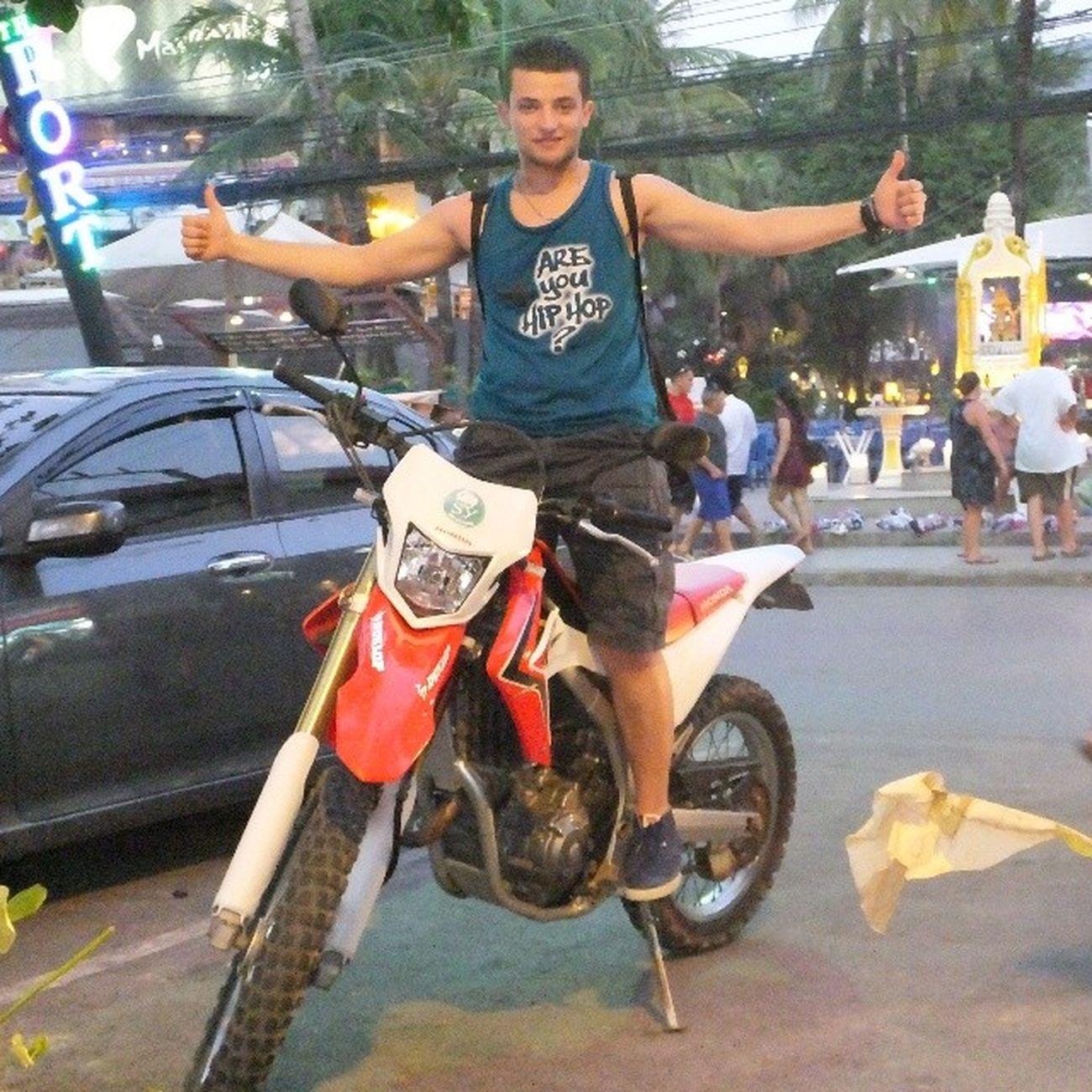 Rented Motorbike Honda CRF 250cc On Patong Beach Phuket Braap  Thailaind Thai Patongbeach phuketstreets nice biker Bikelife nohelmet awsm moment shots