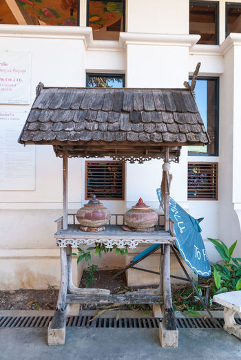 Free water for traveler to drink. Found at northern of Thailand Booth Bower Chiang Mai | Thailand Clay Pot Day Dipper Drinking Water Free Gratuitous No People Northern Thailand Outdoors Shingle Pavilion Thatched Pavilion Traveler
