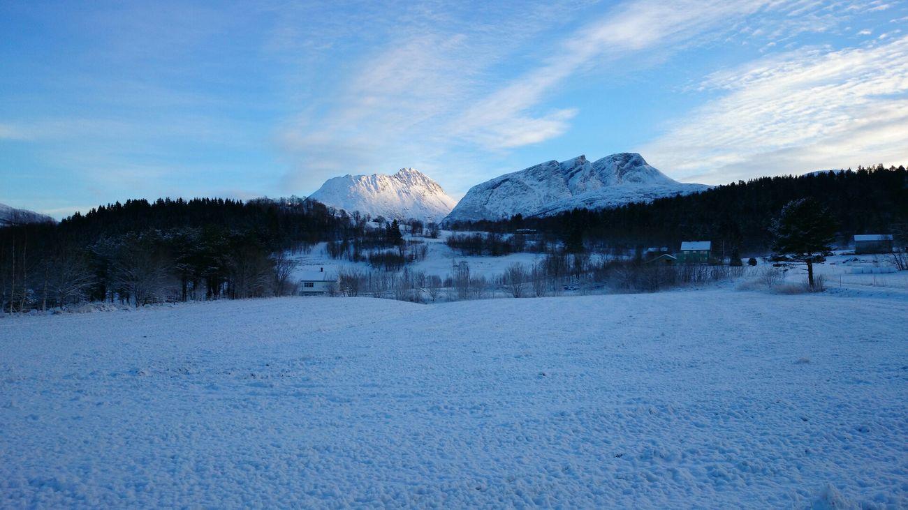 Winter White By CanvasPop Norway Mountains Eide På Nordmøre
