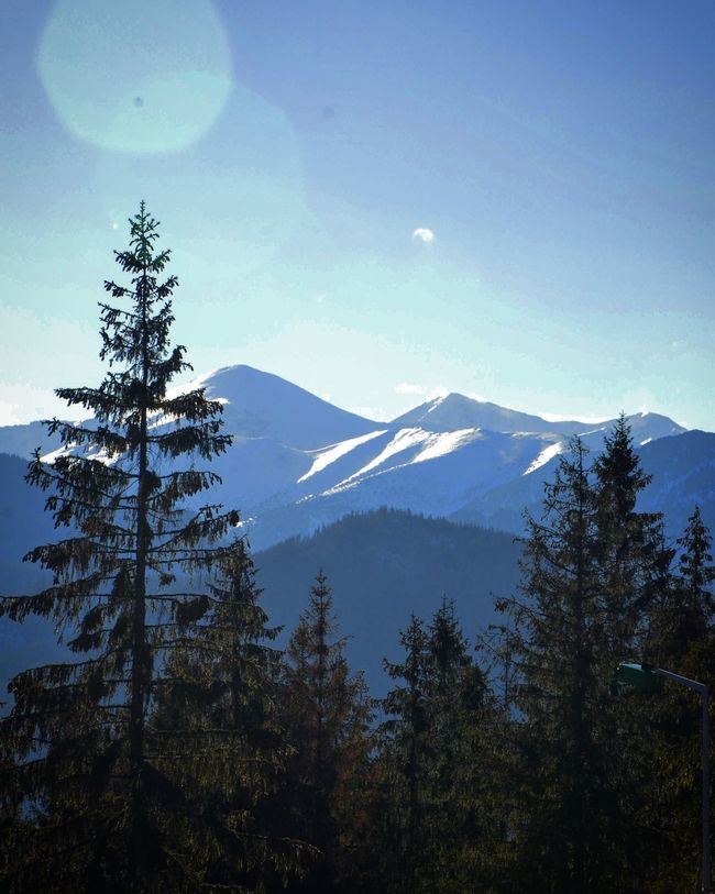 Mountains Mountains And Sky Nature Nikon D7000