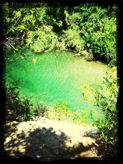 Natural lakes on the mountains above Avola. Priceless! Sicily Italy Nature