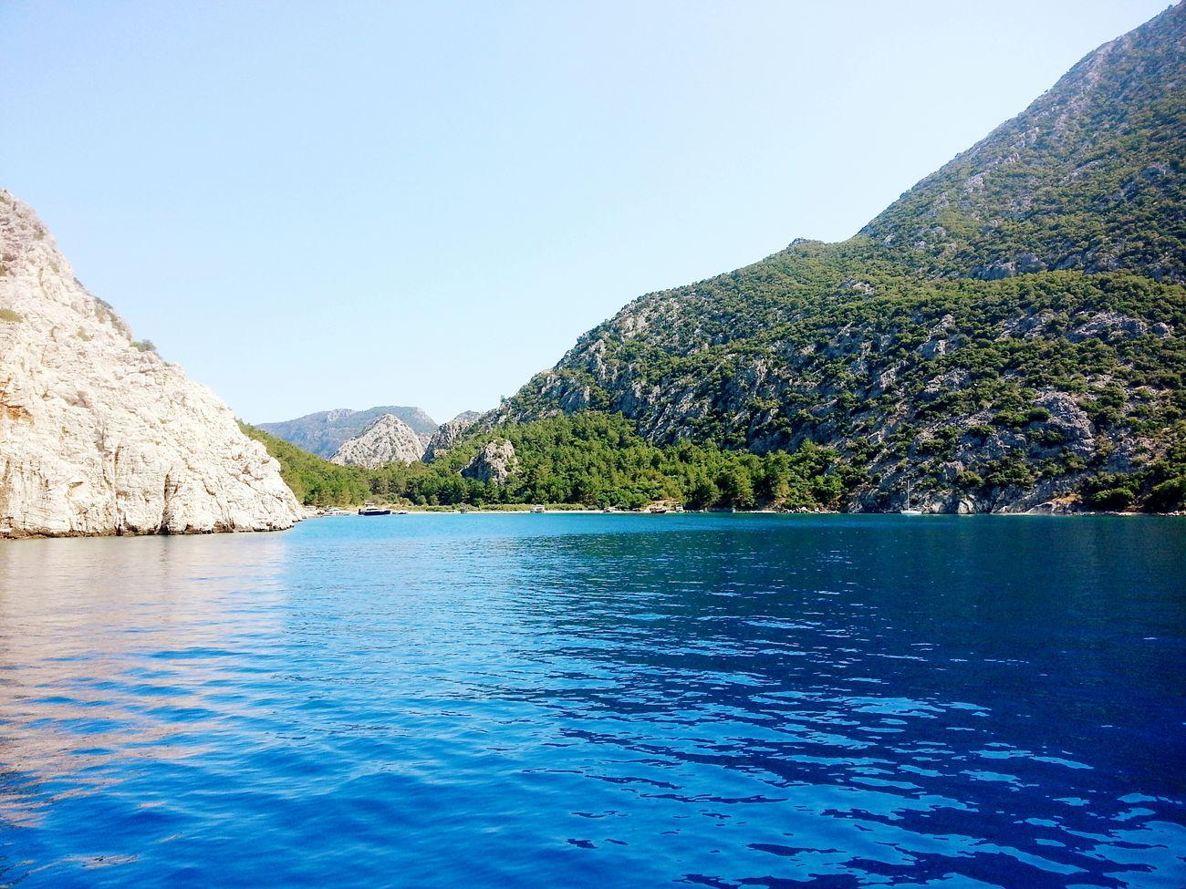 Traveling Antalya Turkey Olympos Sea Blue Mediterranean  Akdeniz Boattrip