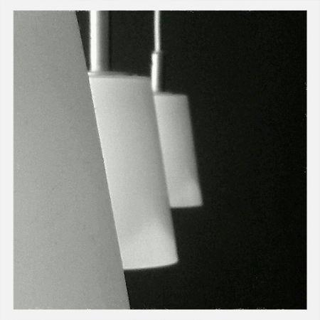 Lamparas. Lamps. Blackandwhite Minimalism Light