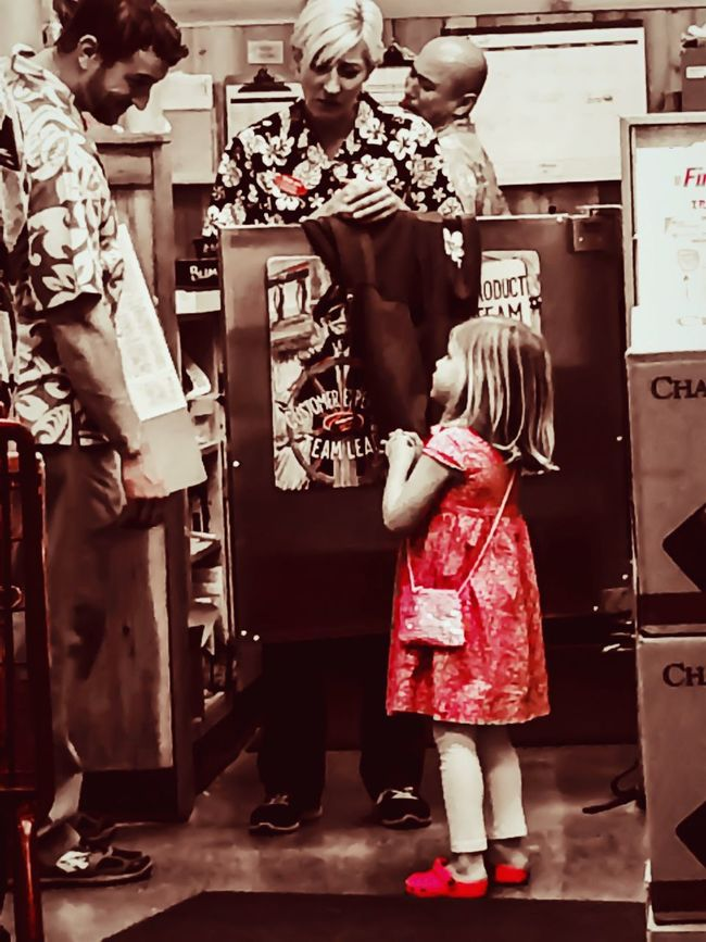 Such a Little Lady  IPhoneography People Red Street Photography Sreetphotography Streetphotography