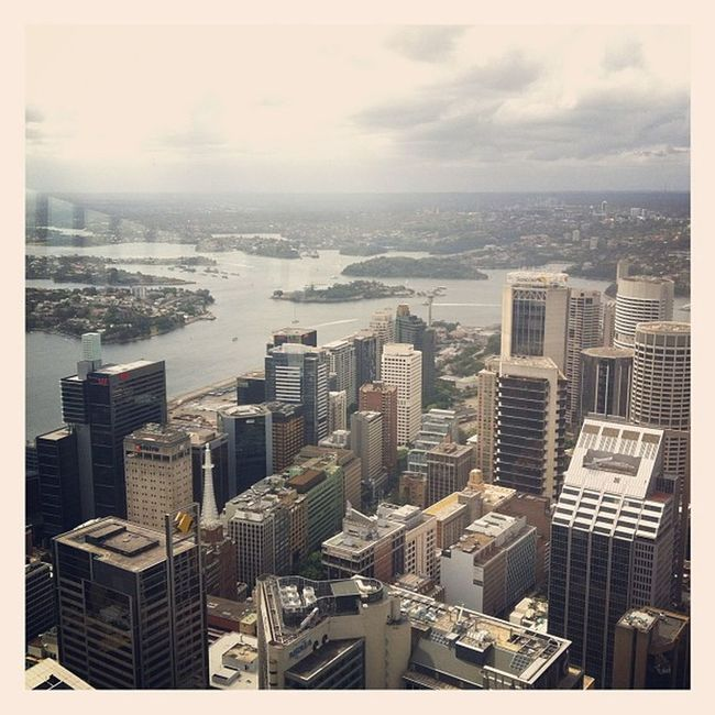 Being at 309m above from the ground >.< Sydney Syd Igsyd Tourist fun leggo