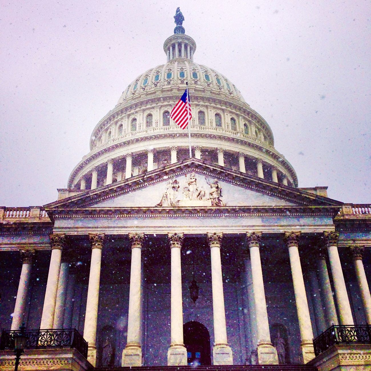Lobbying in the Snow Cityscapes Arts Advicacy Day
