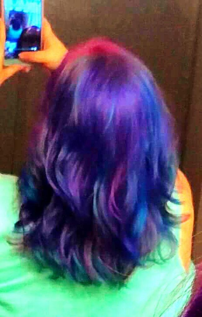 Let Your Hair Down Mermaidhair Rainbowhaircolors Hairstyle Haircolor Hairtrend Hairdye