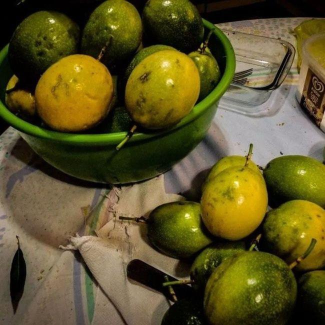 Maracujá Passion -fruit Granadilla Fruit -de-la-passion