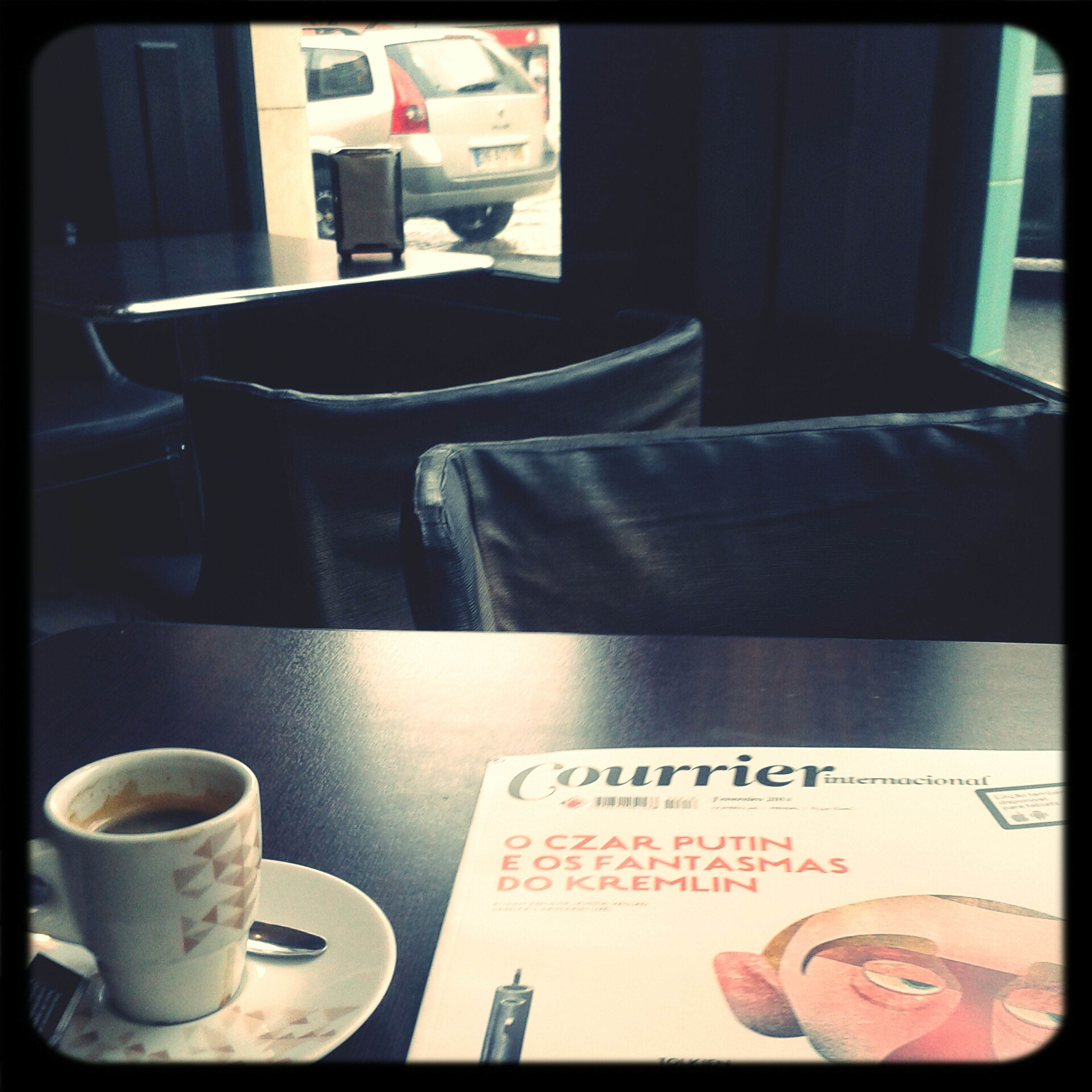 Reading Magazine Strong Coffee