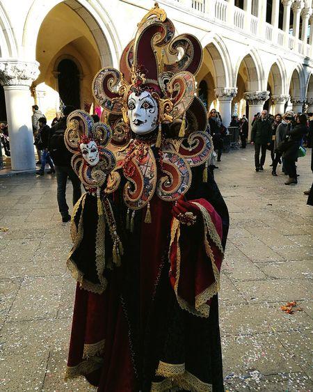 Carnival Venice Celebration Parade Venetian Mask Performing Arts Event Carnival Venice Venice, Italy