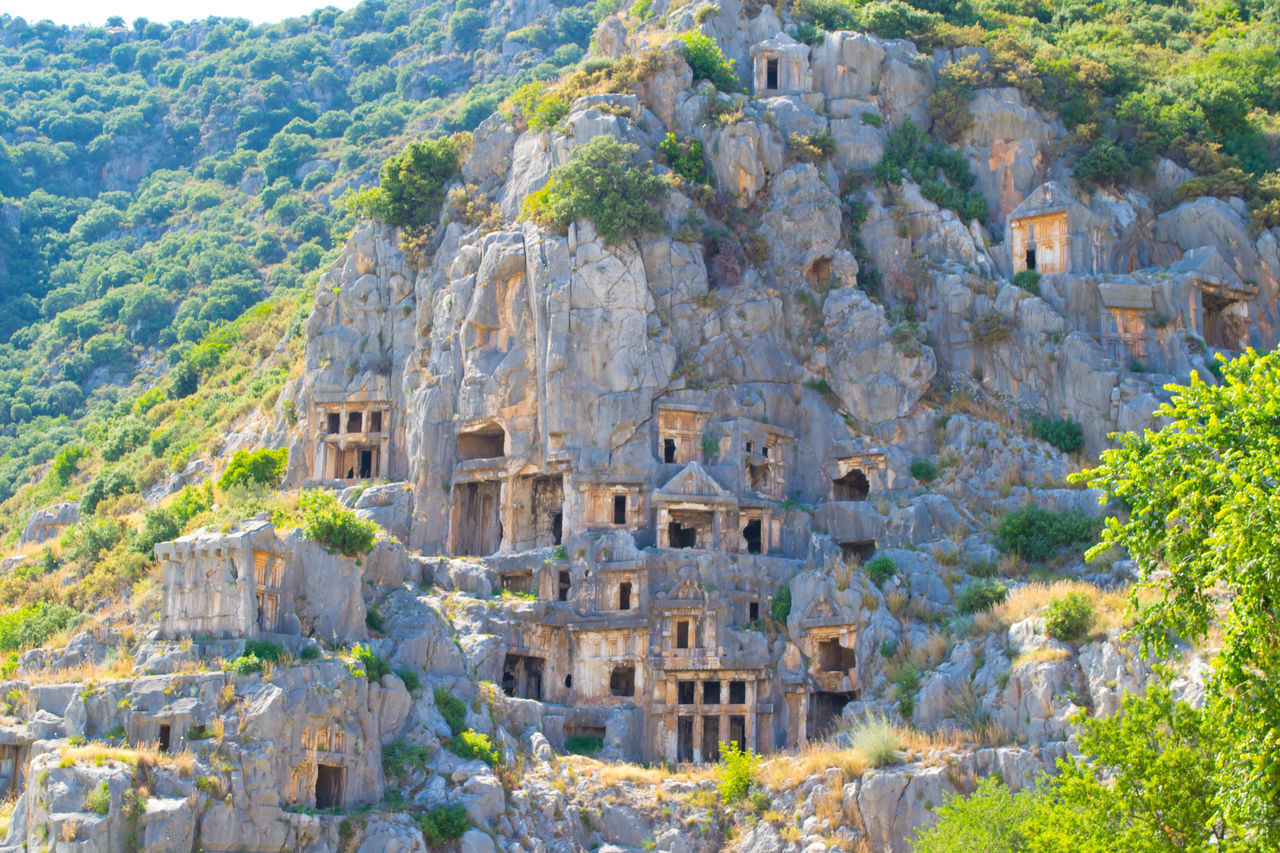 Ancient Ancient Civilization Architecture Building Exterior Community Day Demre Exploring Famous Place History Old Old Ruin Ramble Rock Rock - Object Rock Formation Stone Stone Wall Summertime The Past Tour Trip Turkey Vacation