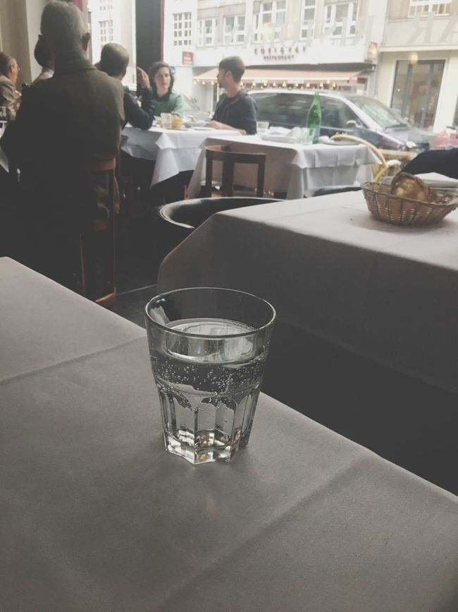 Table Drinking Glass Restaurant Food And Drink Drink Indoors  Group Of People Women Real People Men Day People